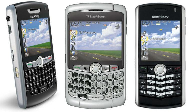 Modelos de Celulares Blackberry de 2008